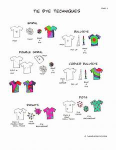 Image Result For Tie Dye Patterns Printable Instructions