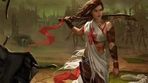 Women Warrior Computer Wallpapers, Desktop Backgrounds ...
