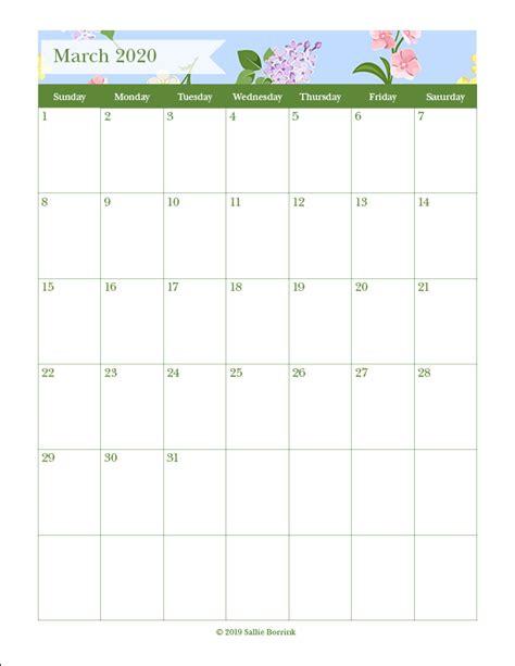 printable monthly calendars   quiet simple
