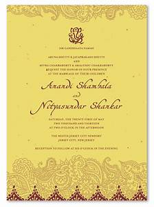 indian wedding invitations on seeded paper shantih by With indian wedding invitations recycled paper
