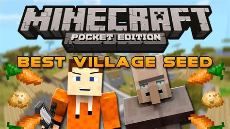 Biggest VILLAGE Ever Seed! - Minecraft Pocket Edition ...