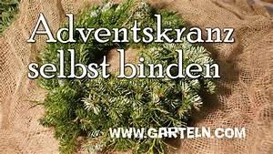 Adventskranz Selbst Binden : adventskranz selbst binden youtube ~ Markanthonyermac.com Haus und Dekorationen