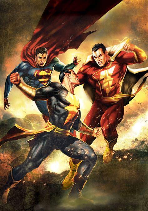 Superman/Shazam!: The Return of Black Adam   Movie fanart ...