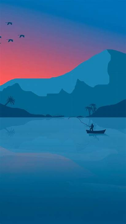 Background Wallpapers Minimalist Minimal Sunset Nature 1080