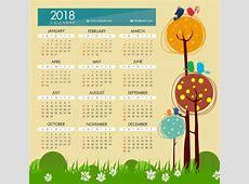 2018 Calendar Clipart – 101 Clip Art