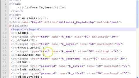 016 html form taglari fieldset legend