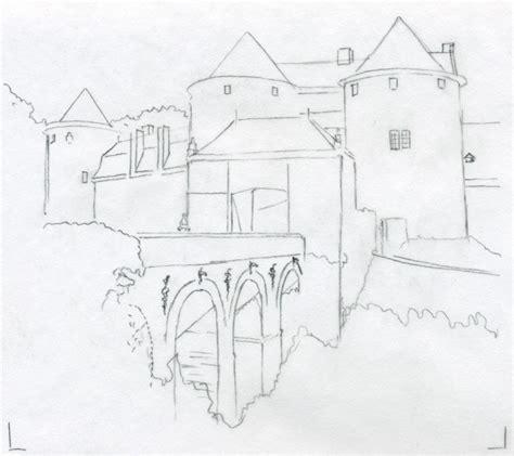 medieval castle drawings