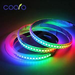 1m  5m Ws2812b Rgb Led Strip Light Flexible 30  60  144