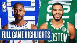 2019-20 NBA – Los Angeles Clippers @ Boston Celtics Preview & Pick - The Stats Zone