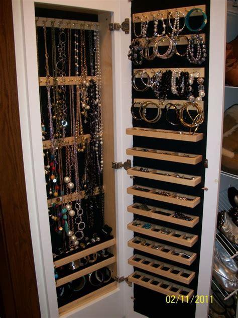 jewelry cabinet ideas  pinterest mirror