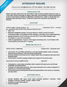 17 best internship resume templates to download for free With college student resume for internship