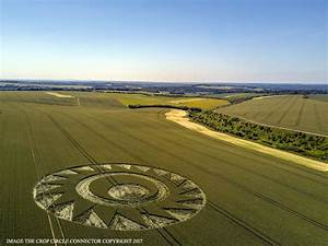 Crop Circle At Cheesefoot Head  Nr Winchester  Hampshire  Reported 17th June 2017