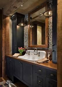 45, Best, Rustic, Bathroom, Decor, Ideas, U0026, Designs, 2021, Guide
