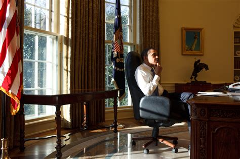 bureau president file barack obama thinking day in the oval office