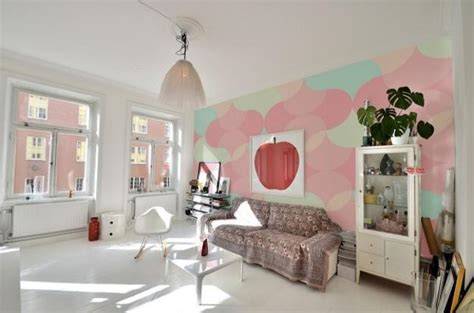 Lovely Pastel Wall Mural Design Ideas by Creative Wall Murals Prints And Modern Wallpaper In Muted