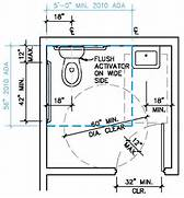 Ada Commercial Bathroom Requirements 2015 by Ada Single Restroom Google Search Design Pinterest Toilet Room Small