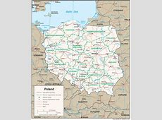 Poland Maps PerryCastañeda Map Collection UT Library