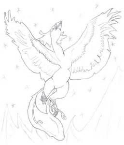 Phoenix Bird Drawings