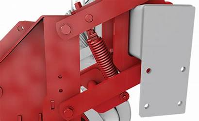 Strip Till Row Unit Features Tillage Tools