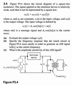 Solved  3 4 Figure P3 4 Shows The Circuit Diagram Of A Squ