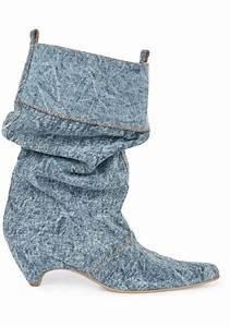 Nicholas Kirkwood Size Chart Stella Mccartney Women 39 S Denim Fabric Midcalf Booties
