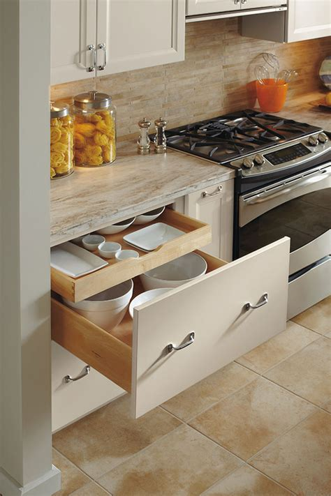 deep drawer base cabinet  rollout omega
