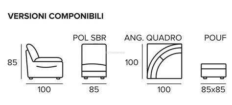 Divano Componibile Rivestimento In Pelle O Ecopelle Design