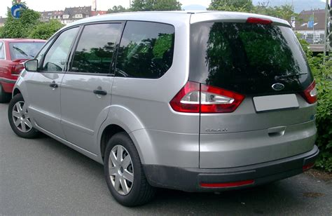 Ford Galaxy History Of Model Photo Gallery And List Of