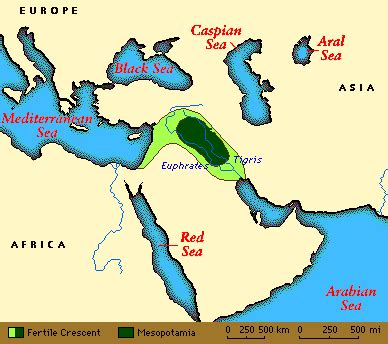 mesopotamia  cradle  modern civilization introduction