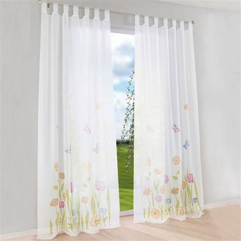 1pcs floral window curtain sheer curtains drapes for