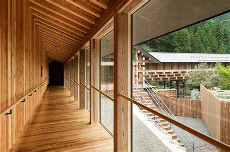 yusuhara wooden bridge museum kengo kuma associates
