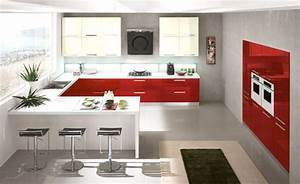 Awesome Cucina Rossa E Bianca Pictures - Embercreative.us ...