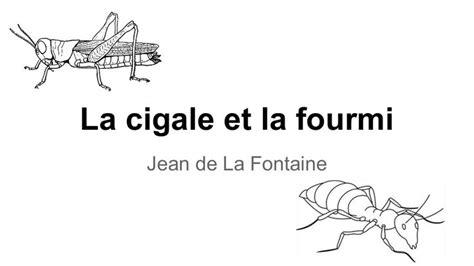 sch駑a chambre de culture la cigale et la fourmi fable de jean de la fontaine 17e siècle