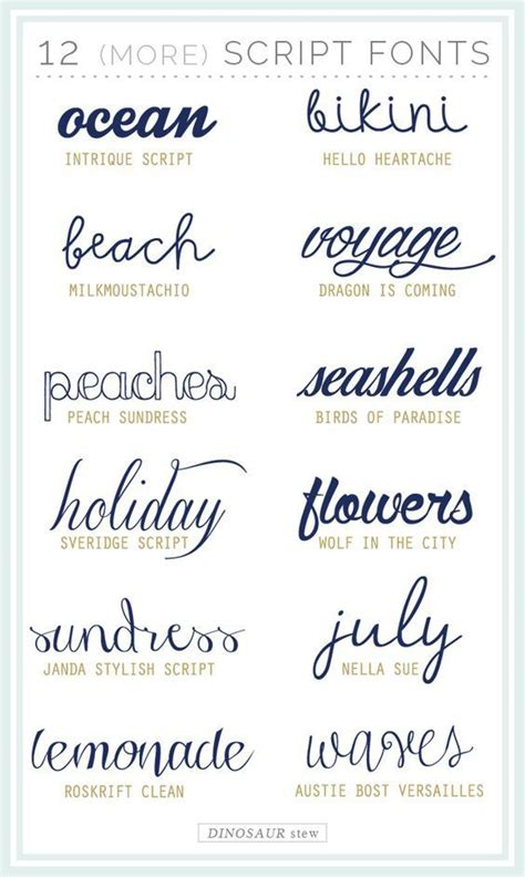 twelve  script fonts     fonts cricut  silhouette fonts