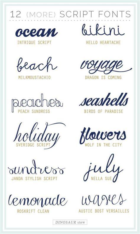 twelve  script fonts     fonts cricut  silhouette fonts