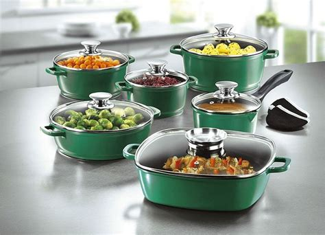 cookware gas stove sets kitchen cooknovel