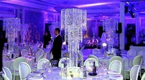 shipping acrylic crystal wedding centerpiece table