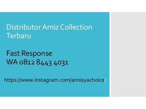 Harga Gamis Merk Arniz wa 0812 8443 4031 t sel distributor gamis merk arniz