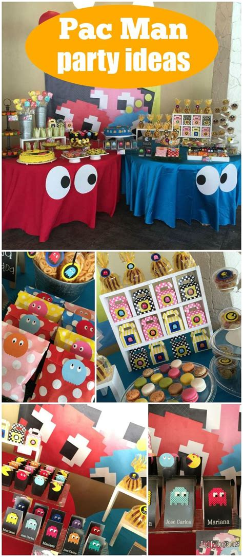 pacman party birthday pacman party retro party ideas