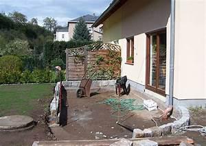 Terrasse selber bauen unterbau terrassen nicht zu klein for Terrassen selber bauen