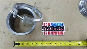 S400 T6 K31 Turbo Exhaust Flange  U0026 Stainless Steel Clamp