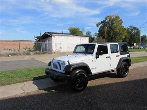 jeep wrangler unlimited  sale  louisiana carsforsalecom