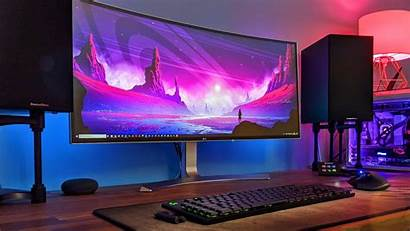Gaming Setup Pc 4k Computer Wallpapers Desktop