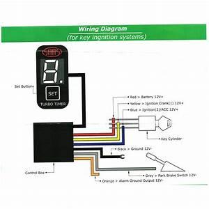 Saas Turbo Timer Switch Panel Gauge Digital Suits Toyota