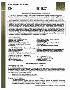awesome healthcare management resumes ornament resume With healthcare executive resume