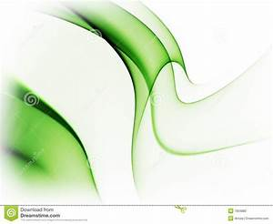 Dynamic Green Abstract Background On White Stock ...
