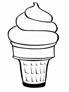 Clip Art Ice Cream Cone
