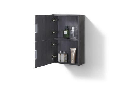small bathroom high gloss gray oak linen side cabinet
