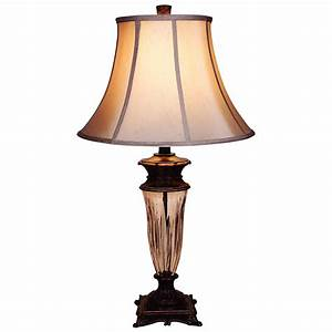 hampton bay table lamp the home depot canada With table lamp making at home