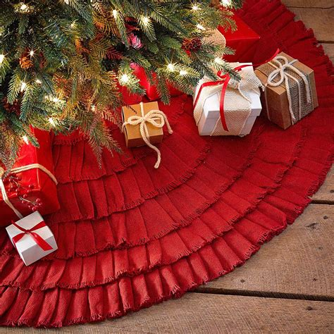 top 10 best christmas tree skirts on sale heavy com